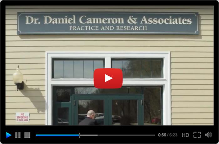 About Dr. Daniel Cameron's Practice