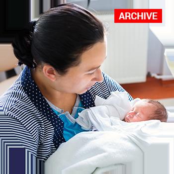 Newborns contracted Babesia, a parasitic tick borne pathogen