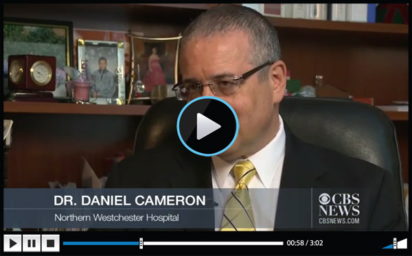 View Dr. Daniel Cameron being interviewed on CBS News
