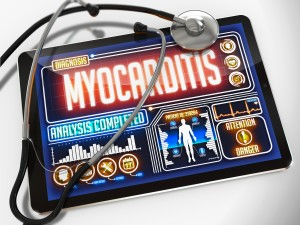 In pediatric patients with Lyme myocarditis, the most common presenting symptoms include respiratory and gastrointestinal distress, with or without chest pain.