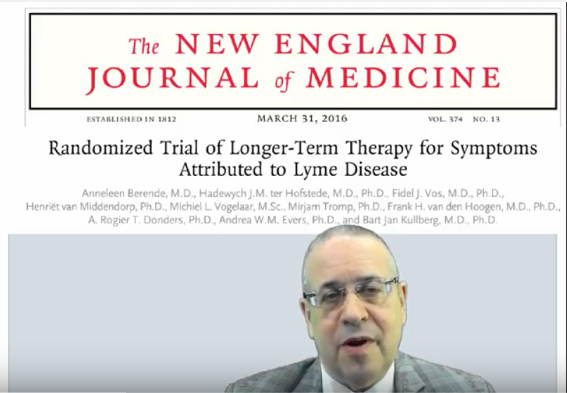 Lyme disease Netherlands clinical trial