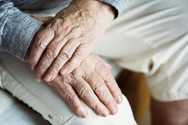 hands, elderly
