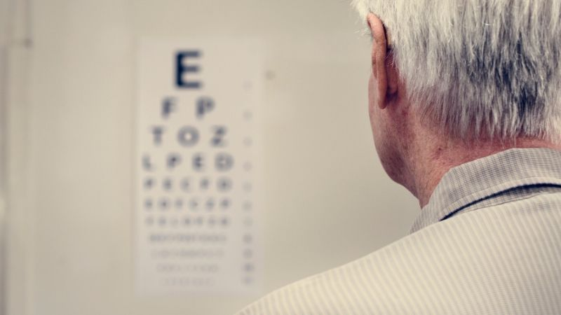 A 69-year-old man with Lyme disease and double vision.