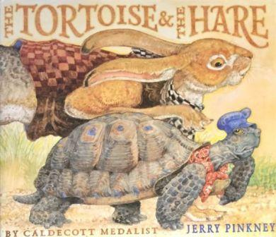 Lyme disease is compared to Tortoise and the Hare fable, pictured on this book cover